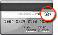 For Visa, Mastercard, or Discover cards, the security code can be found on the back of the card. It is the last 3 digits, typically found to the right of the signature strip.