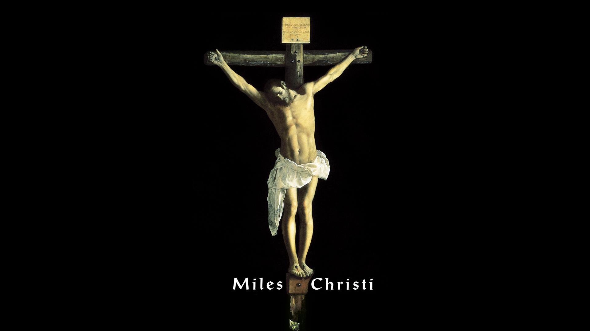 Catholic Wallpapers Miles Christi Religious Order