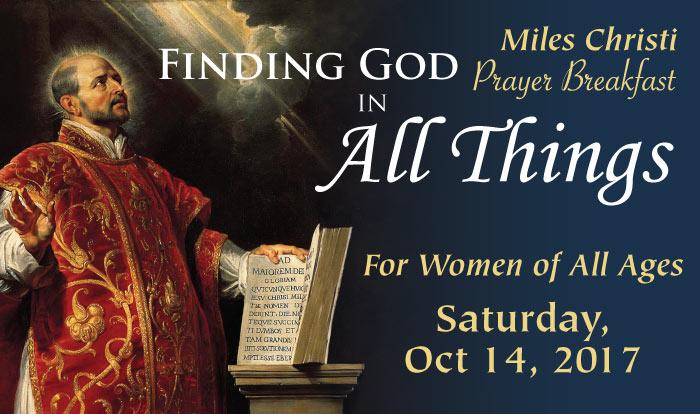 Prayer Breakfast Finding God in All Things